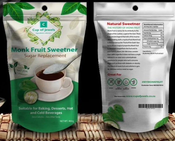 Monk fruit sweetner picture
