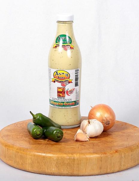 750ml jalapeno cream (mild) picture