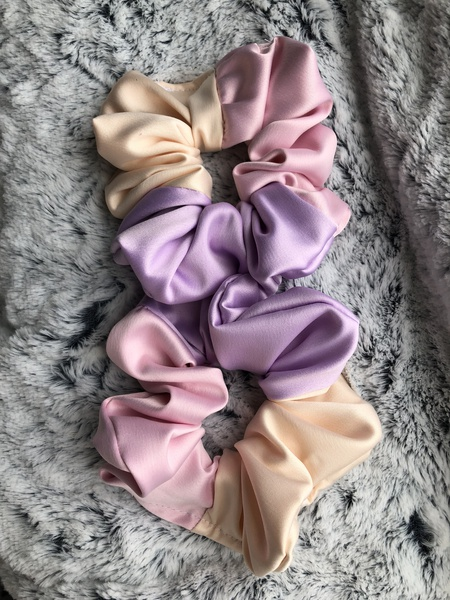 Unicorn satin scrunchie picture