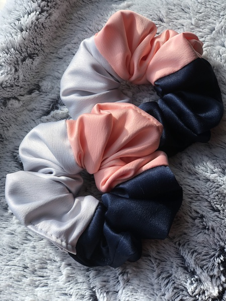Dreamy satin scrunchie picture