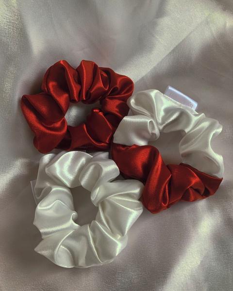 Cupid heart scrunchie set picture