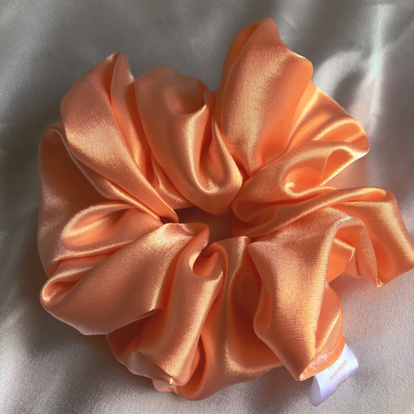 Sunset satin scrunchie picture