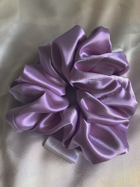 Angel satin scrunchie picture