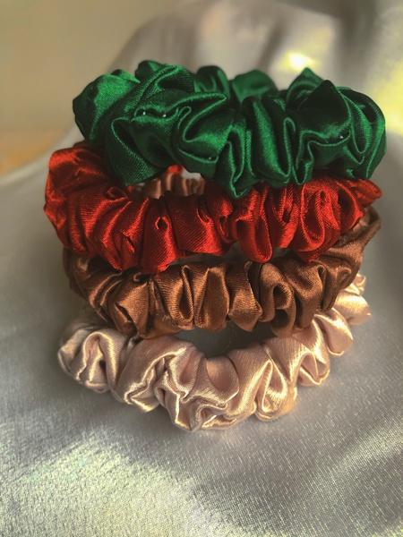 Nature blossom mini scrunchie set picture