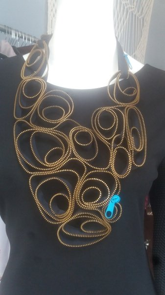 Mhlekazi zip designer neck piece picture