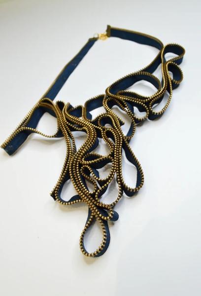 Bontle zip designer neckpiece picture