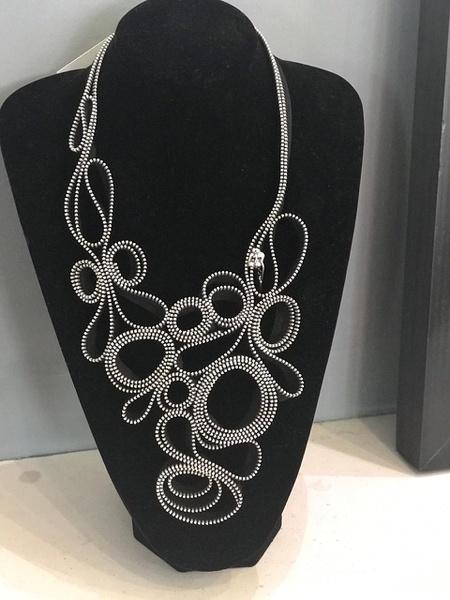 Manaka zip designer neck piece. picture