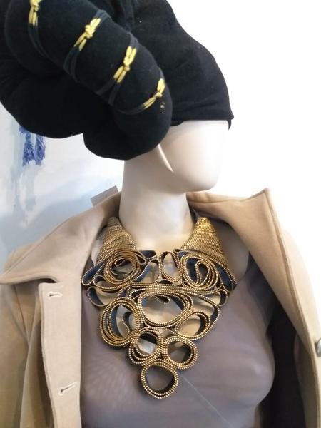Lebuso zip designer neck piece picture