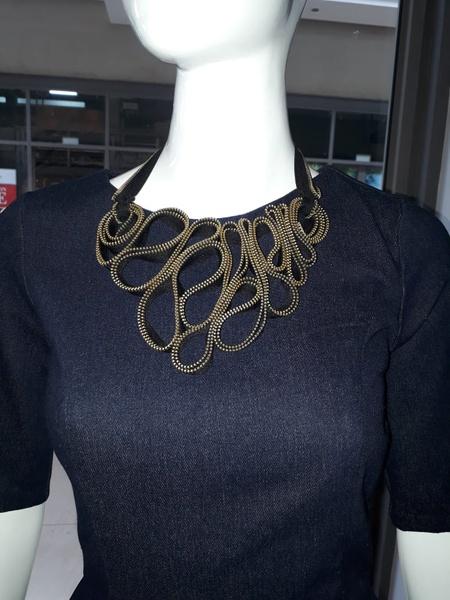 Chakam zip designer neck pieces picture