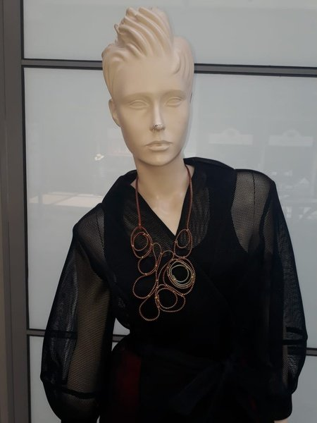 Angel zip designer neck piece. picture