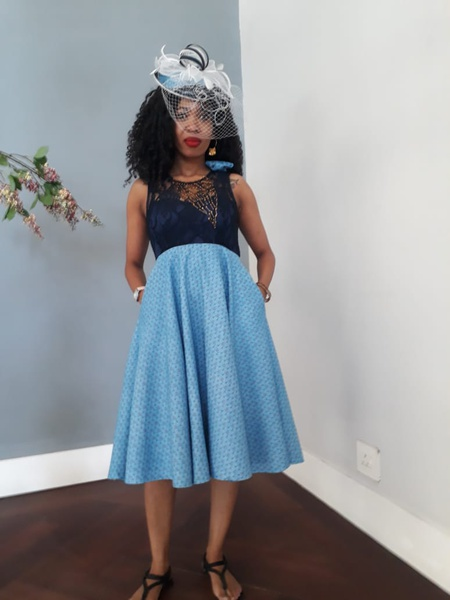 Mbali designer dress picture