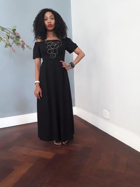 Nkosazana designer dress picture
