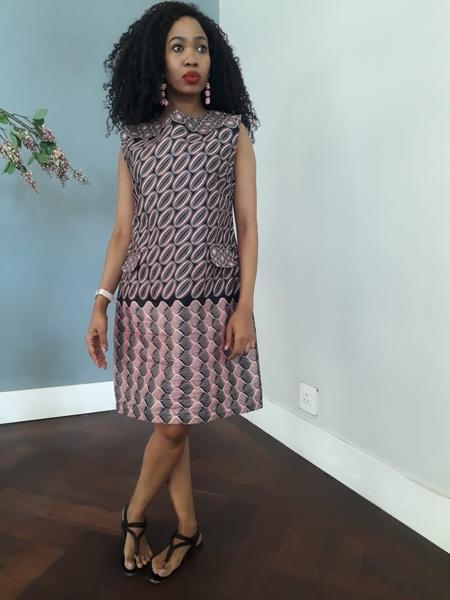 Kgosi designer dress picture