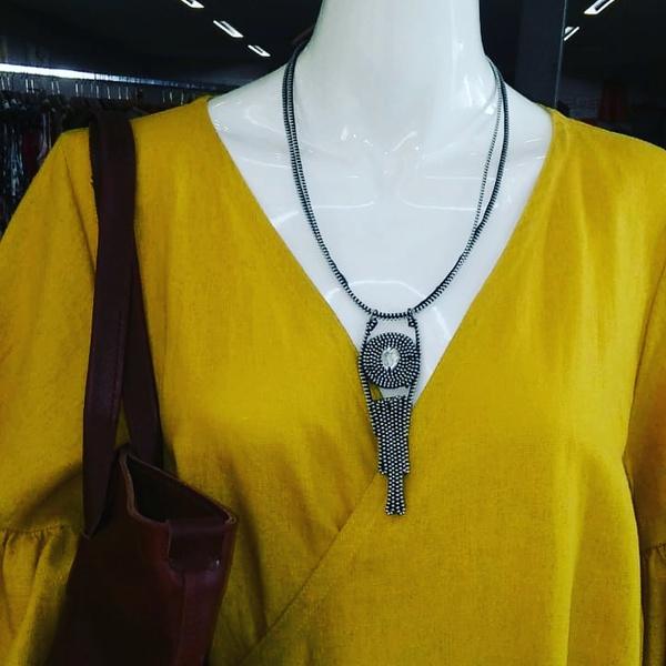 Pila zip designer neckpiece picture