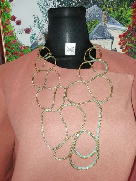 Beskhosini zip designer neckpiece picture