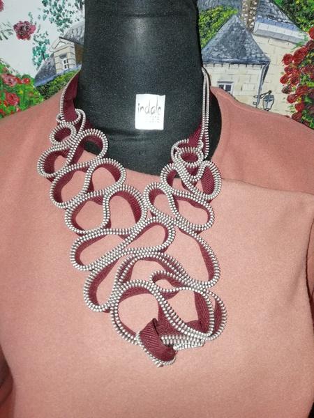 Master zip designer neck piece. picture