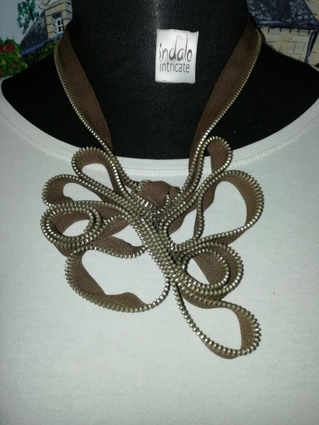 Khethiwe zip designer neck piece picture