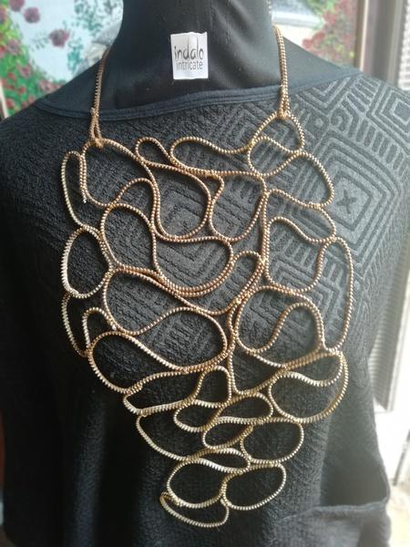 Khutso zip designer neckpiece picture