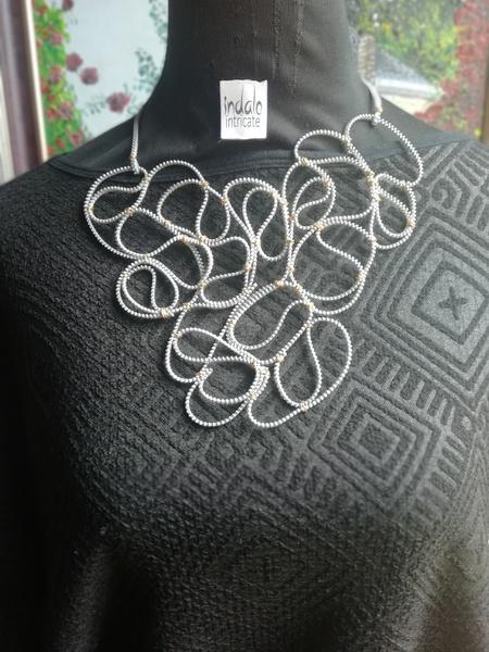 Ndalo intricate designer neck piece picture