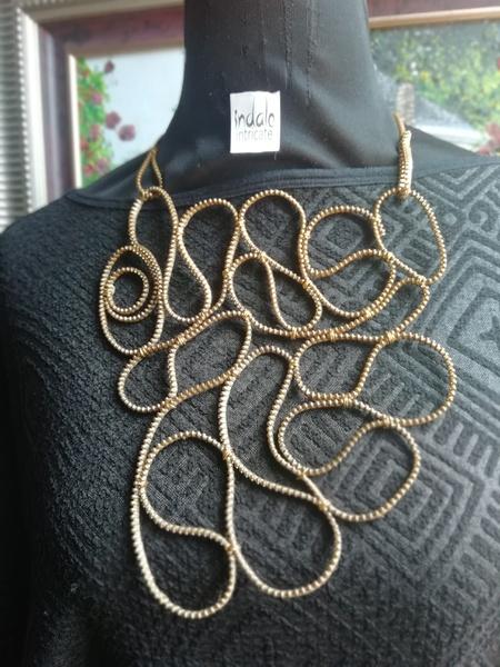 Buciko zip designer neckpiece picture