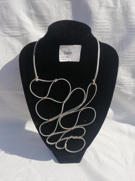 Sikhulile zip designer neck piece picture