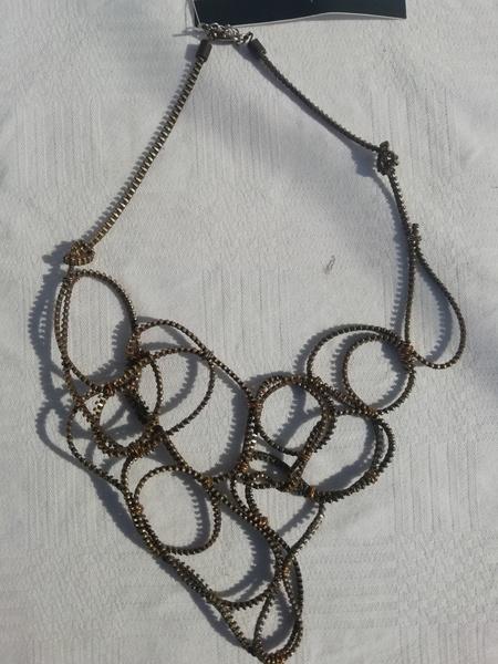 Simanga zip designer neck piece picture