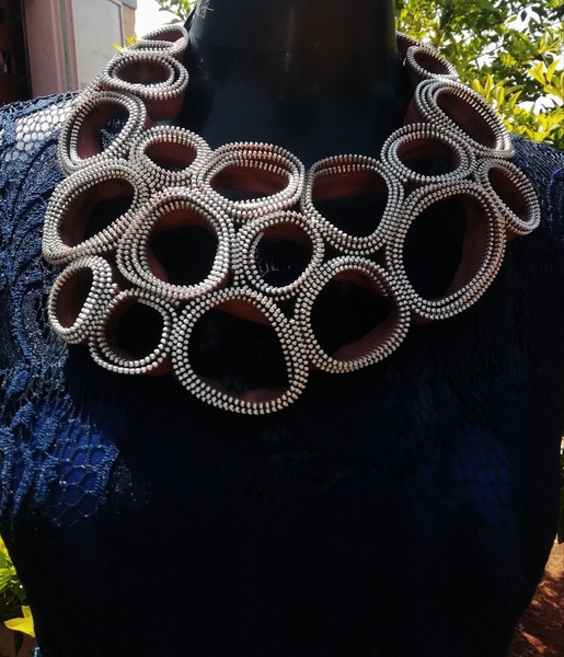 Simanga zipper neck piece picture