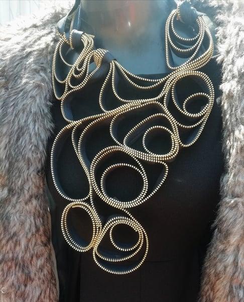 Sjabulile zip designer neck piece picture