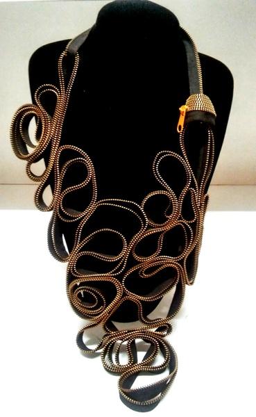 Dawit zip designer neck piece picture