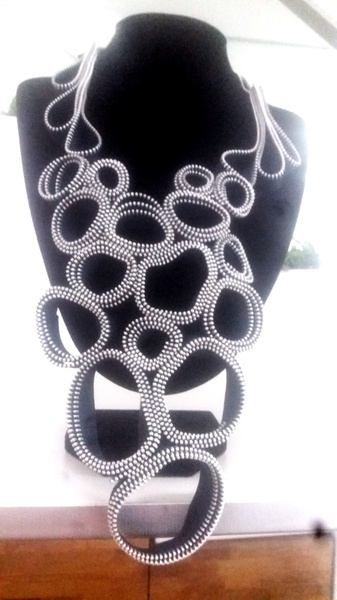 Botse zip designer neck piece picture