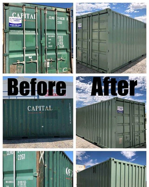 Container Refurbished. picture