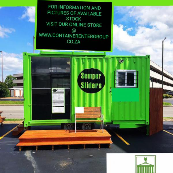 Mobile store container #spec picture