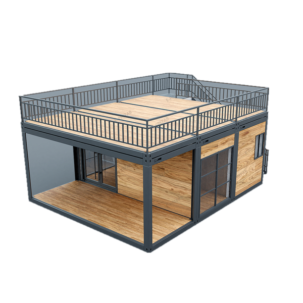 6m triple top deck wooden container spec picture