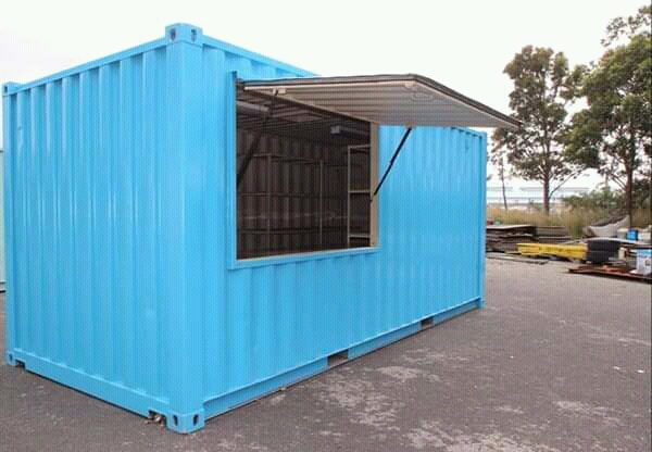 6m tuckshop modified container picture