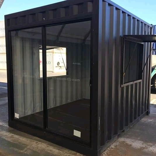 3m sliding door modified container. picture