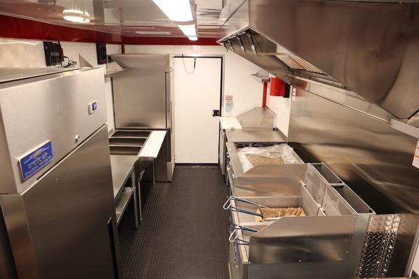 Mobile kitchen trailer picture
