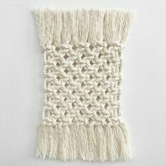 Macrame plate mats picture