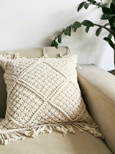 Macrame cushion covers picture