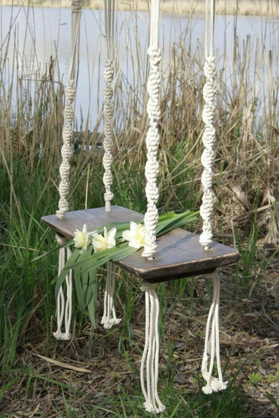 Macrame swing picture