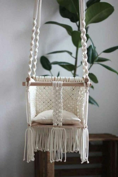 BOHEMIAN BABY ROOMS ETC macrame coats, baby mobiles, wall hangings, baby hammocks and  babyswings picture