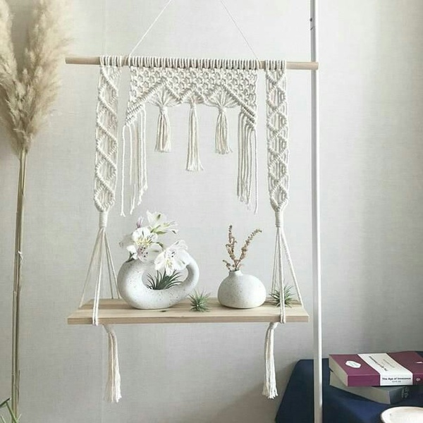Macrame shelves picture