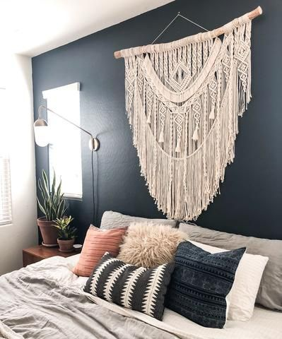 BOHEMIAN BEDROOM ETC bed throws, wall hangings, room divider and cushion covers. picture