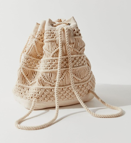 Macrame bag picture