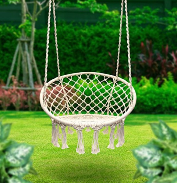 Steel hammock chair picture