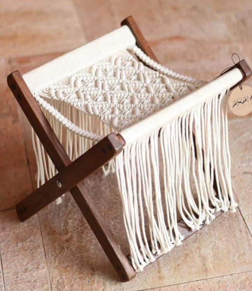 Macrame chair picture