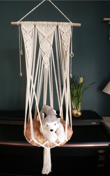 Macrame cats hammocks/ beds picture
