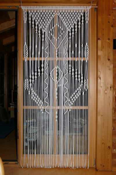 Macrame room dividers picture