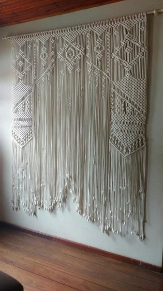 Macrame curtains picture