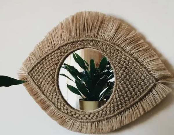 Macrame mirrors picture