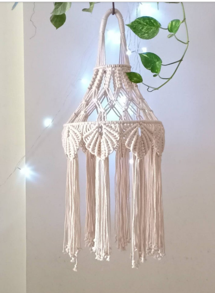 Macrame chandeliers picture